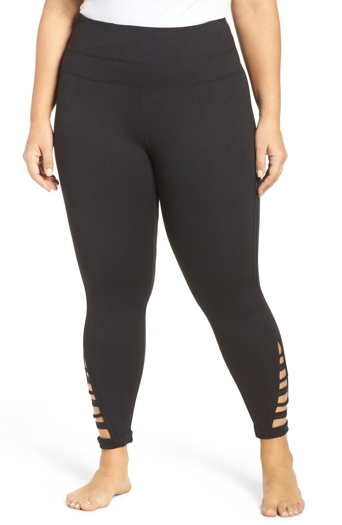 Zella Va Va Impulse High Waist Midi Leggings (Plus Size)
