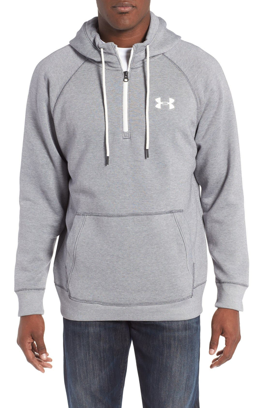 Under Armour Rival Quarter Zip Hoodie
