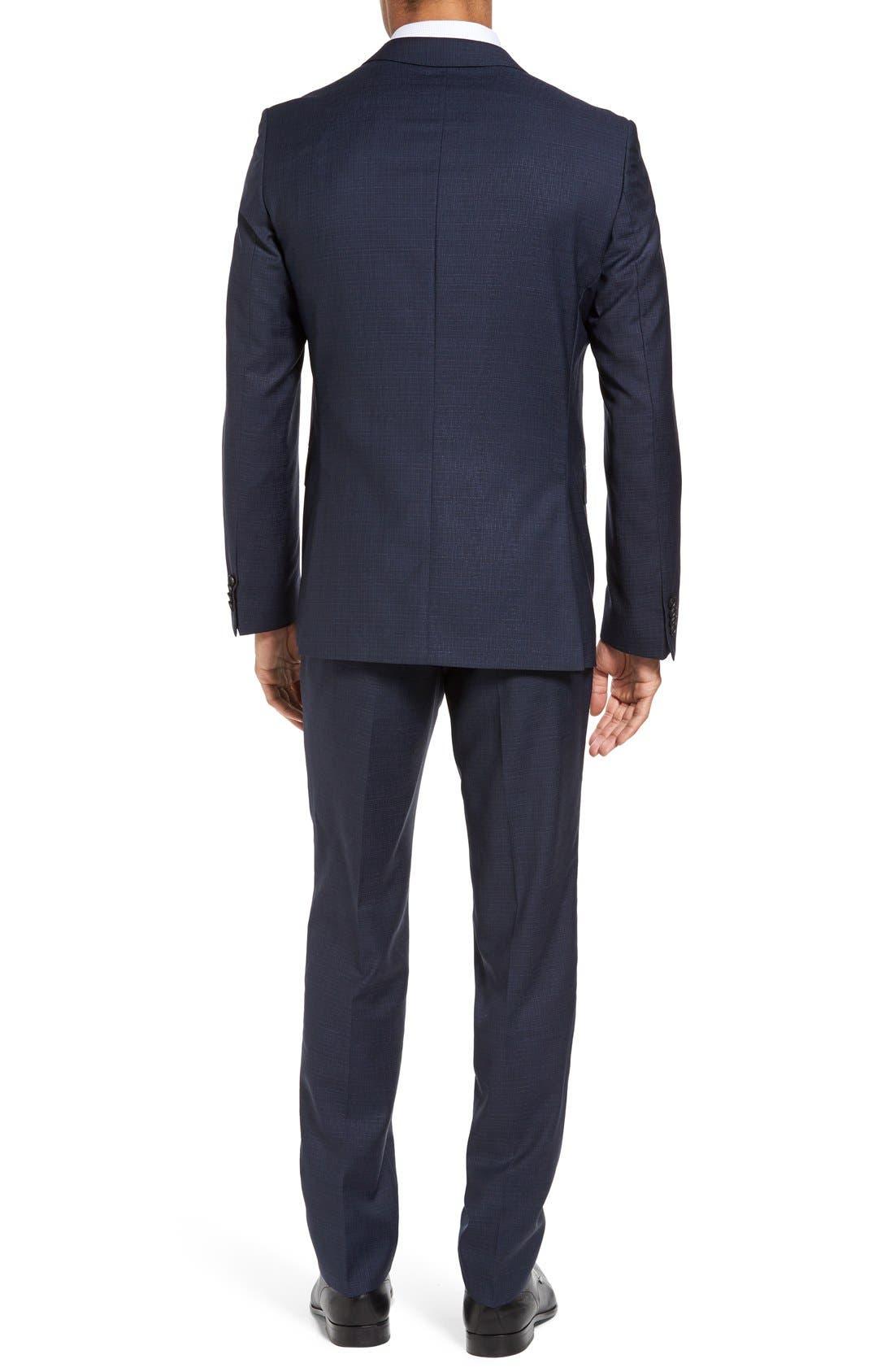 Alternate Image 2  - BOSS Nova/Ben Trim Fit Solid Wool Suit