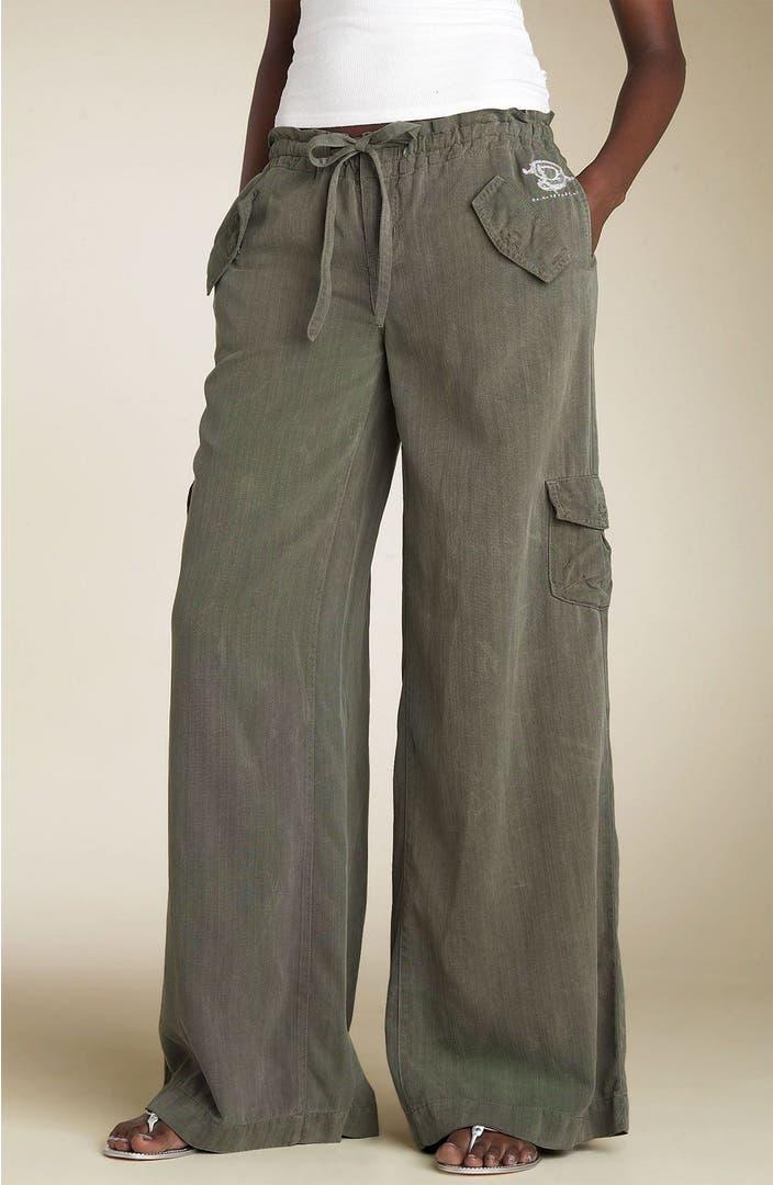 Da Nang Wide Leg Drawstring Cargo Pants Nordstrom