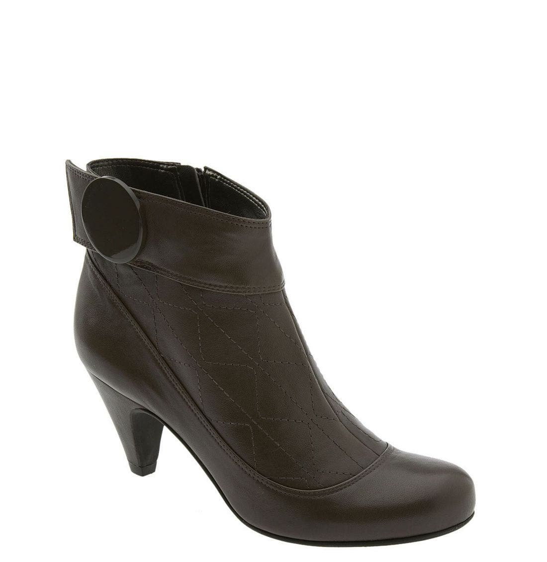 Alternate Image 1 Selected - Vince Camuto 'Cherie' Quilted Ankle Boot