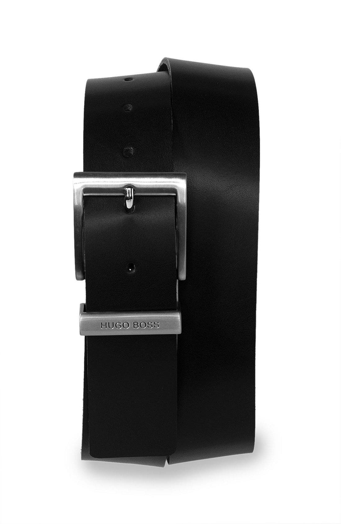 Alternate Image 1 Selected - BOSS Black '9005' Leather Belt