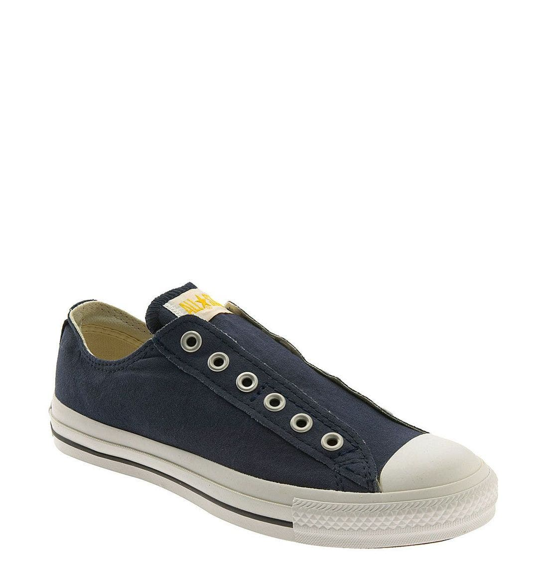 Alternate Image 1 Selected - Converse Chuck Taylor® Low Slip-On Sneaker (Women)