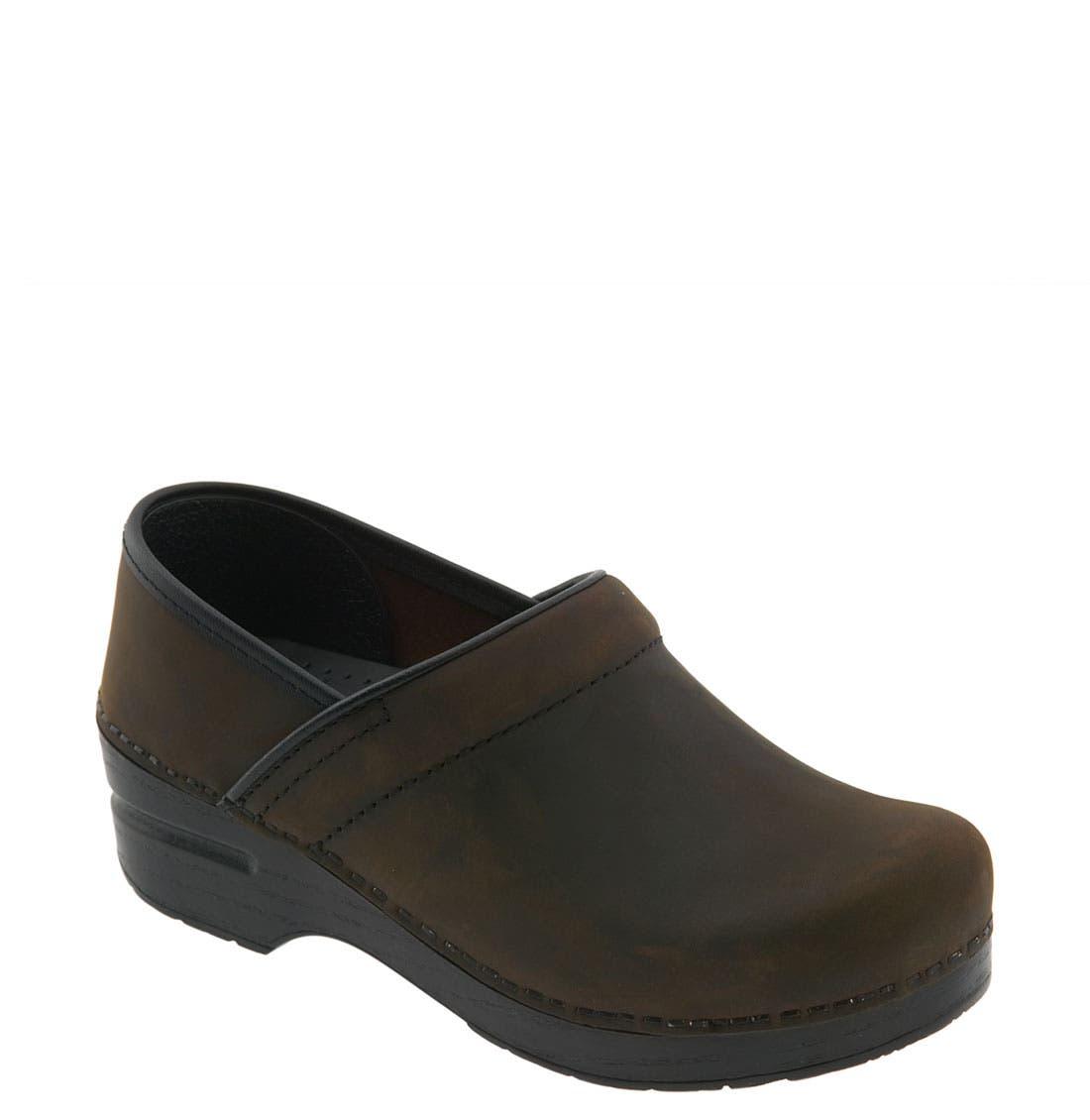 DANSKO 'Professional - Narrow' Oiled Leather Clog