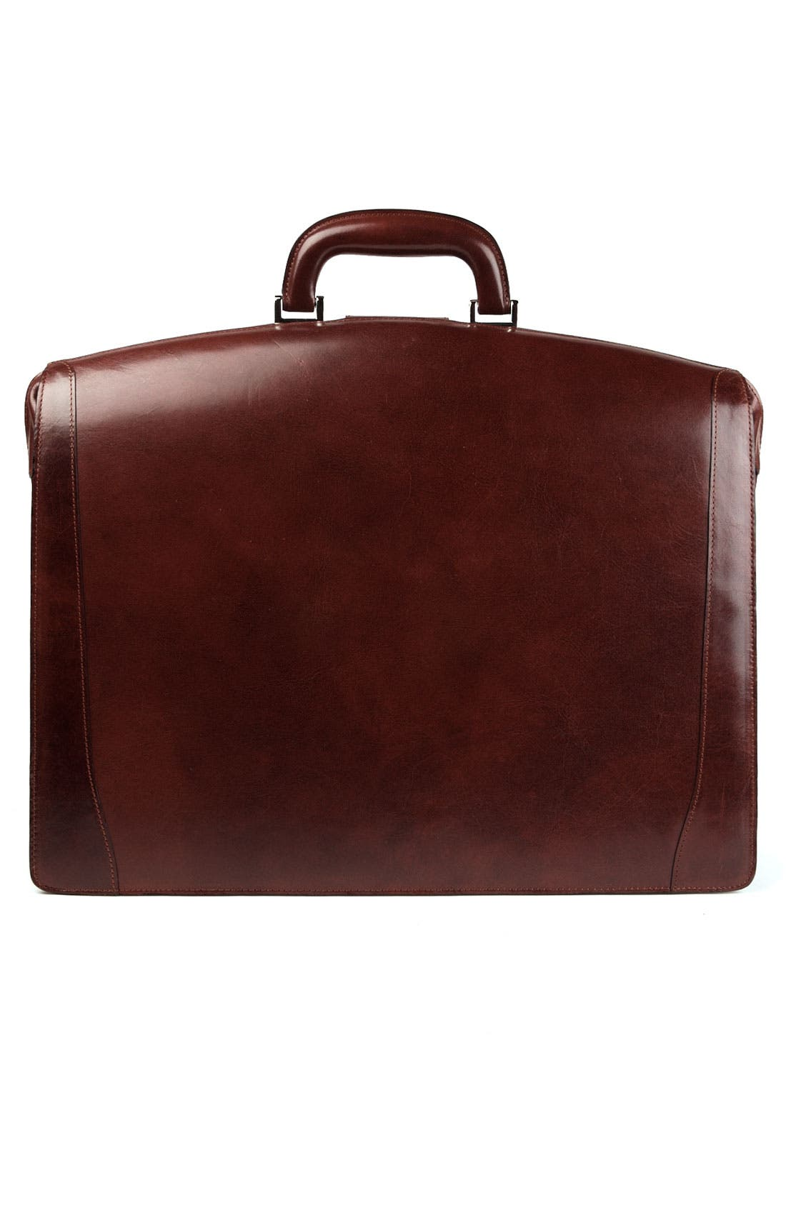 Alternate Image 2  - Bosca Triple Compartment Leather Briefcase