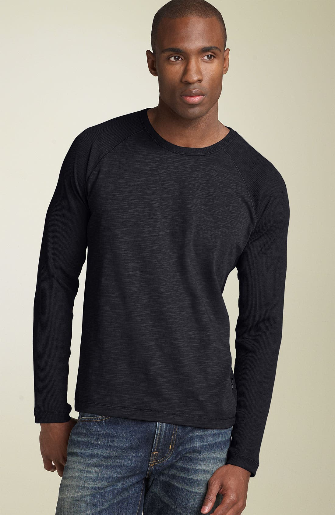 Alternate Image 1 Selected - BOSS Black 'Sassari' Regular Fit Crewneck T-Shirt