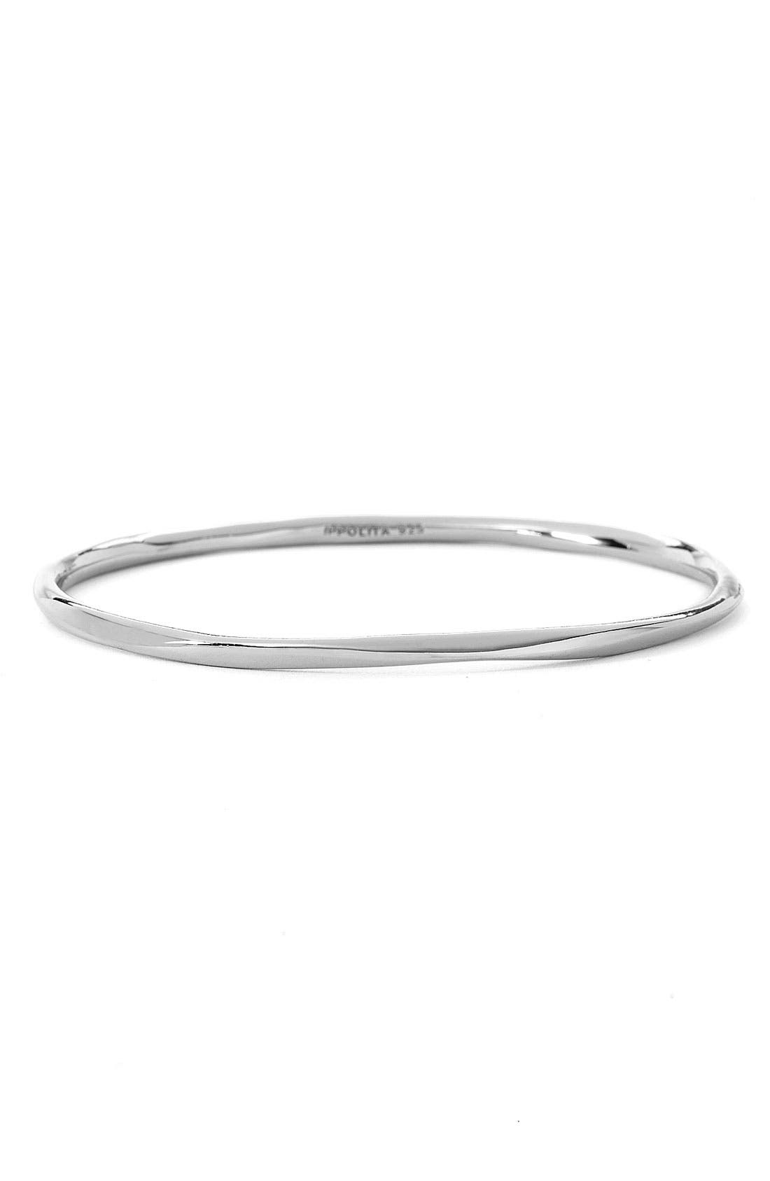 Alternate Image 1 Selected - Ippolita 'Shiny Squiggle' Sterling Silver Bangle