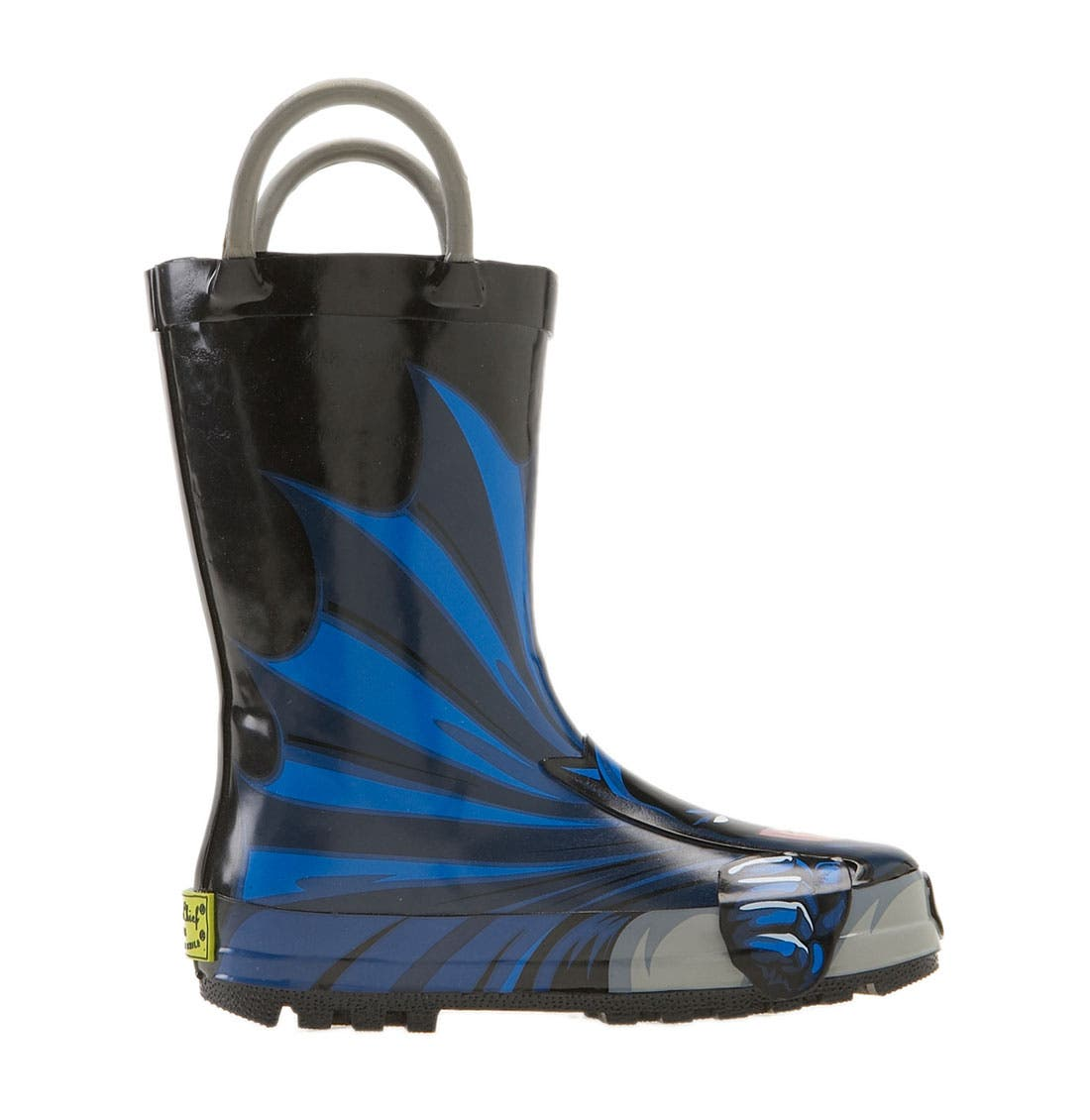 Alternate Image 2  - Western Chief 'Batman' Rain Boot (Walker, Toddler, Little Kid & Big Kid)