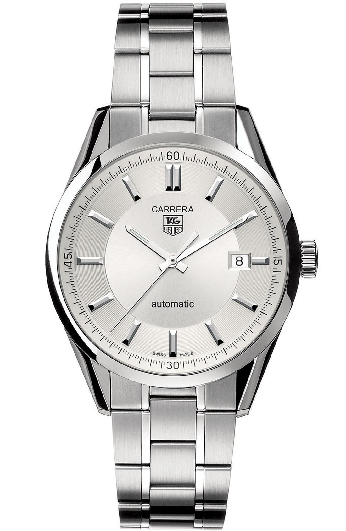 Alternate Image 1 Selected - TAG Heuer 'Carrera' Automatic Watch