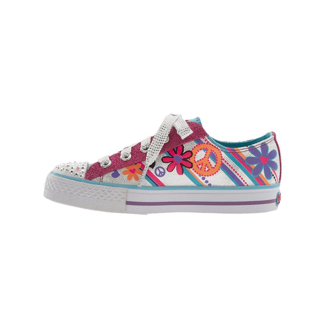 Alternate Image 2  - SKECHERS 'Shuffles - Lights' Sneaker (Walker, Toddler & Little Kid)