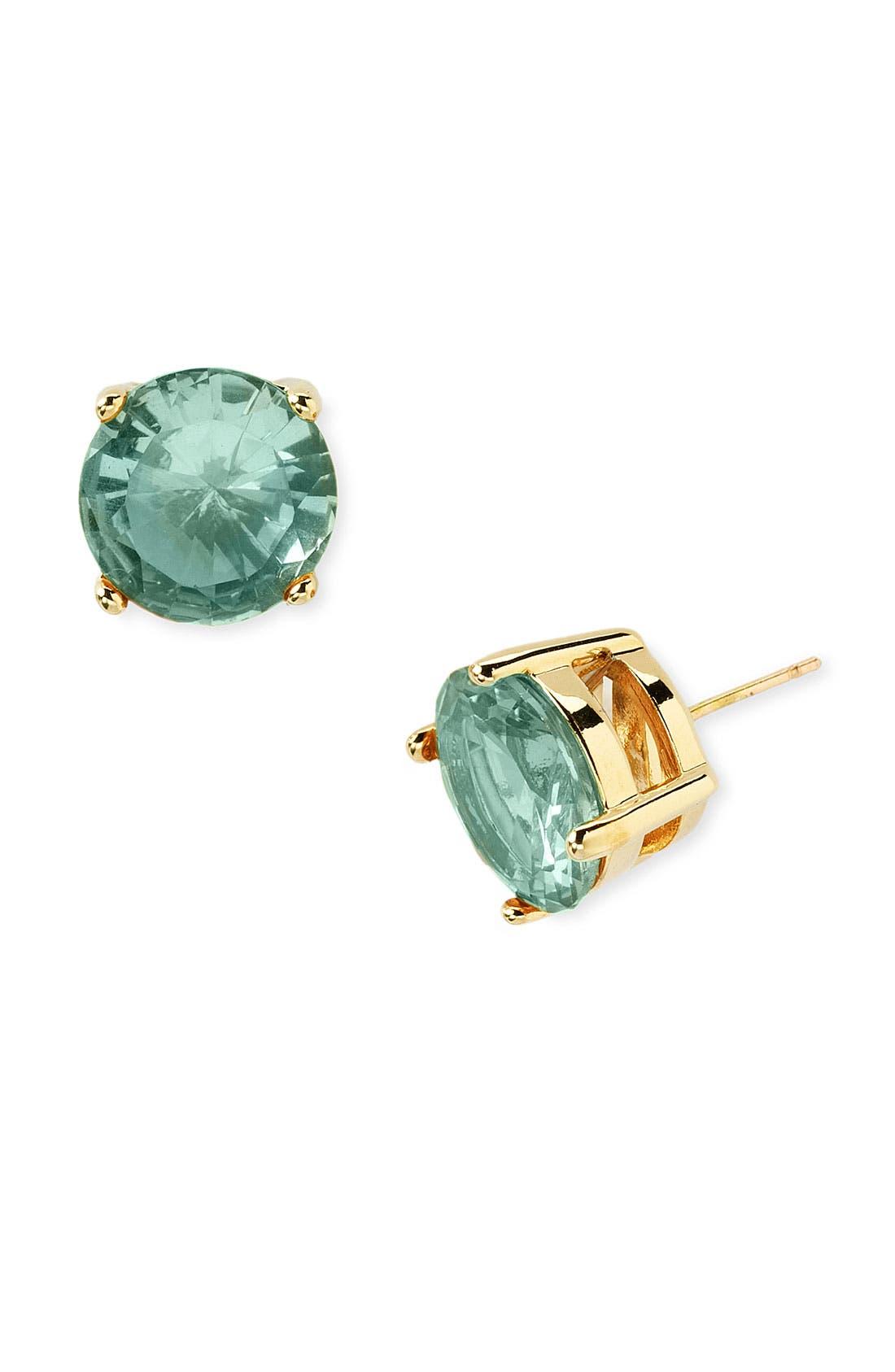 Main Image - kate spade new york colored stone stud earrings