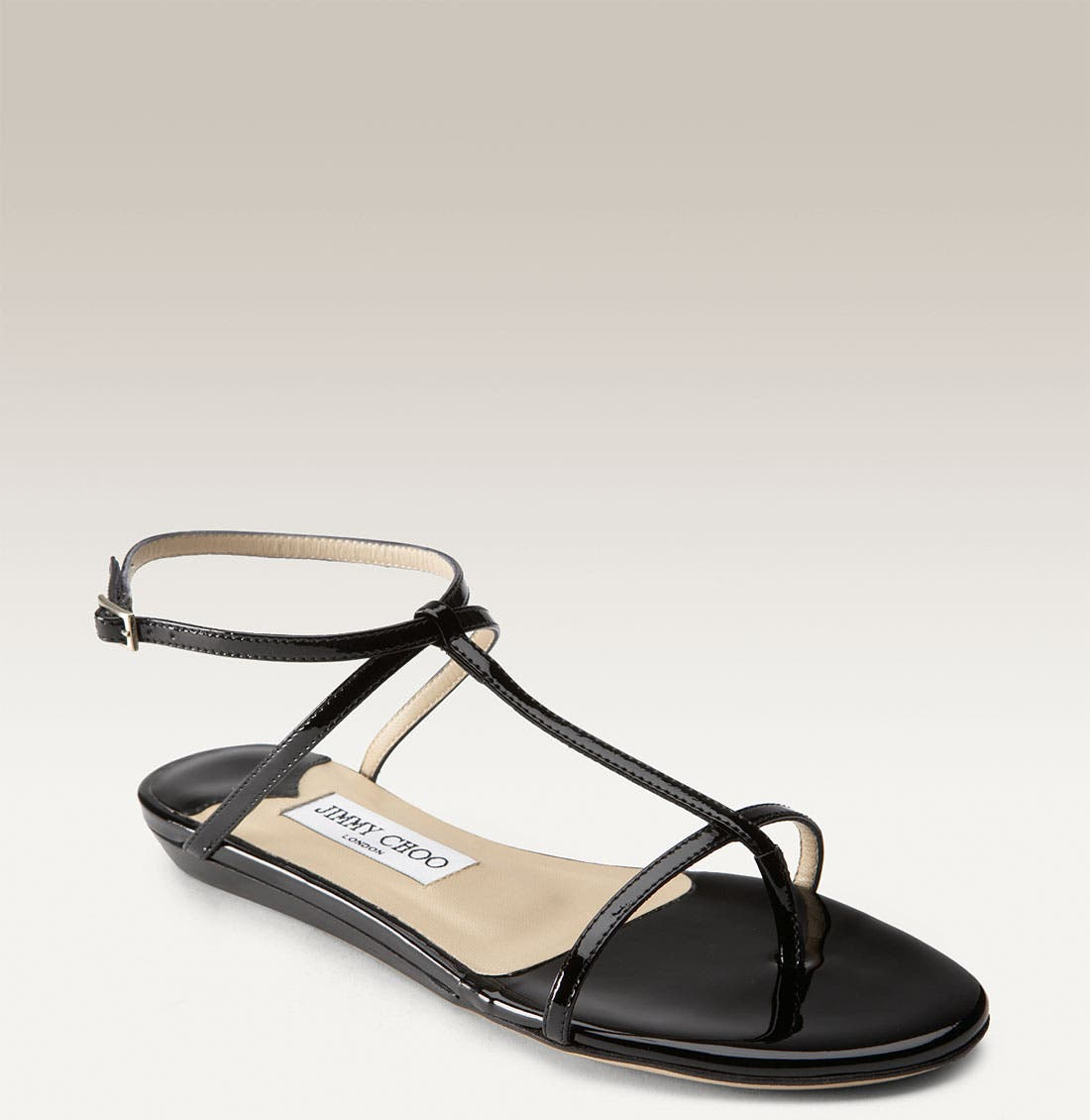 Alternate Image 1 Selected - Jimmy Choo 'Fiona' T-Strap Sandal