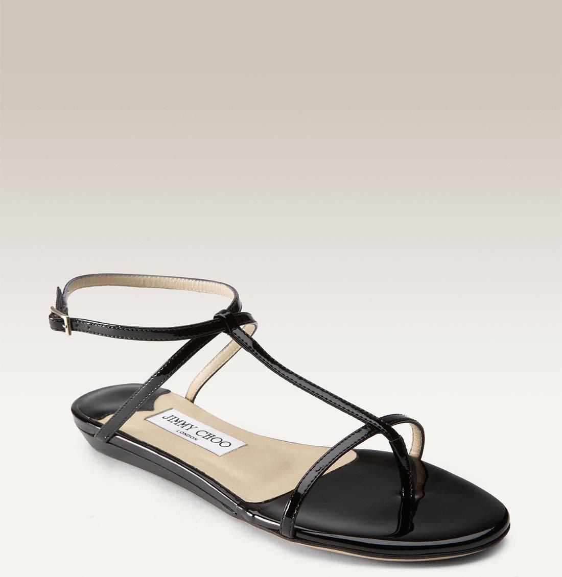 Main Image - Jimmy Choo 'Fiona' T-Strap Sandal