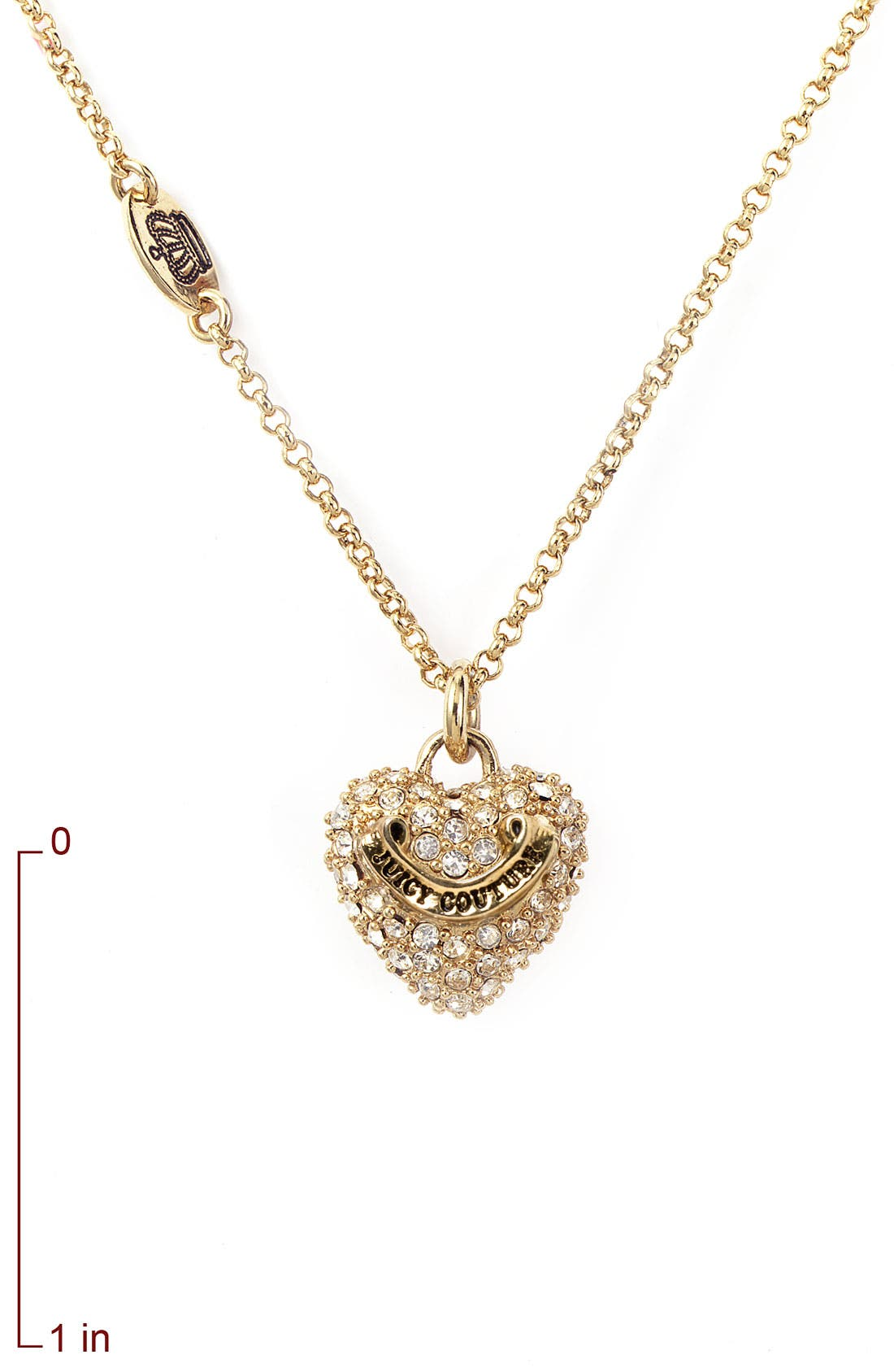 Alternate Image 2  - Juicy Couture 'Wish - Heart' Necklace