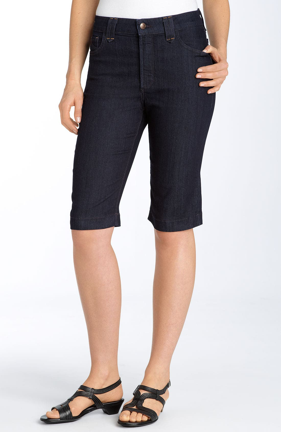 Alternate Image 1 Selected - Not Your Daughter's Jeans® 'Hayden' Walking Shorts (Plus)