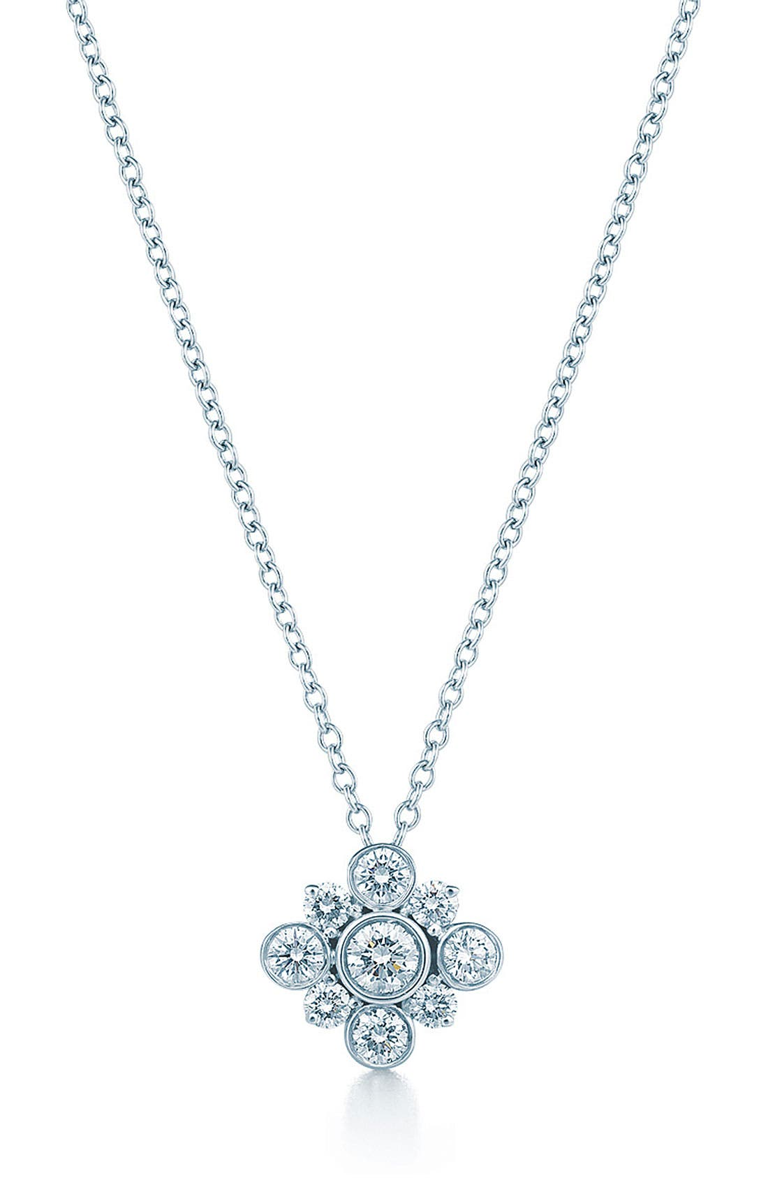 Alternate Image 1 Selected - Kwiat 'Petal' Diamond Pendant Necklace