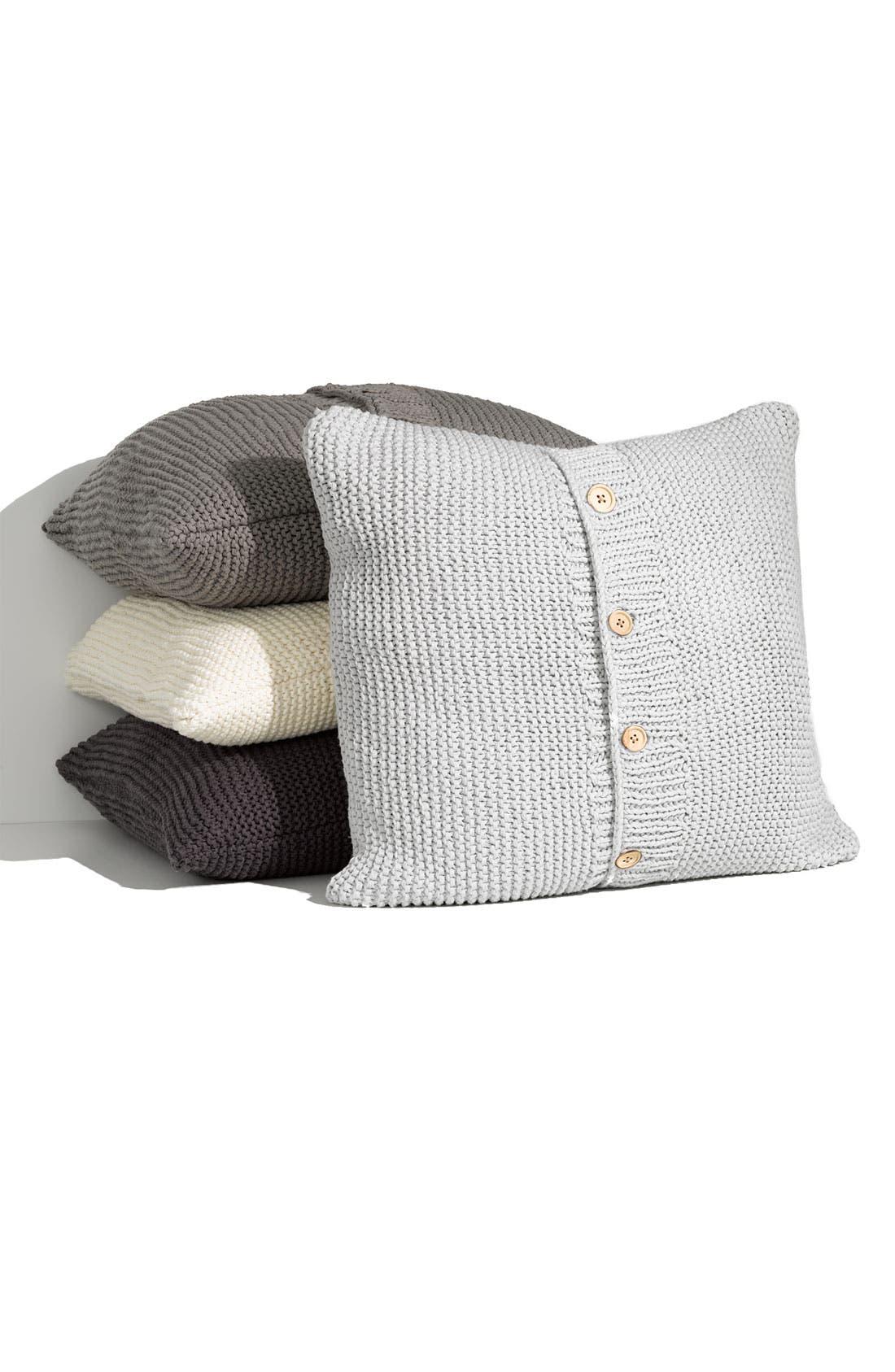 Main Image - Nordstrom Chunky Knit Euro Pillow Sham