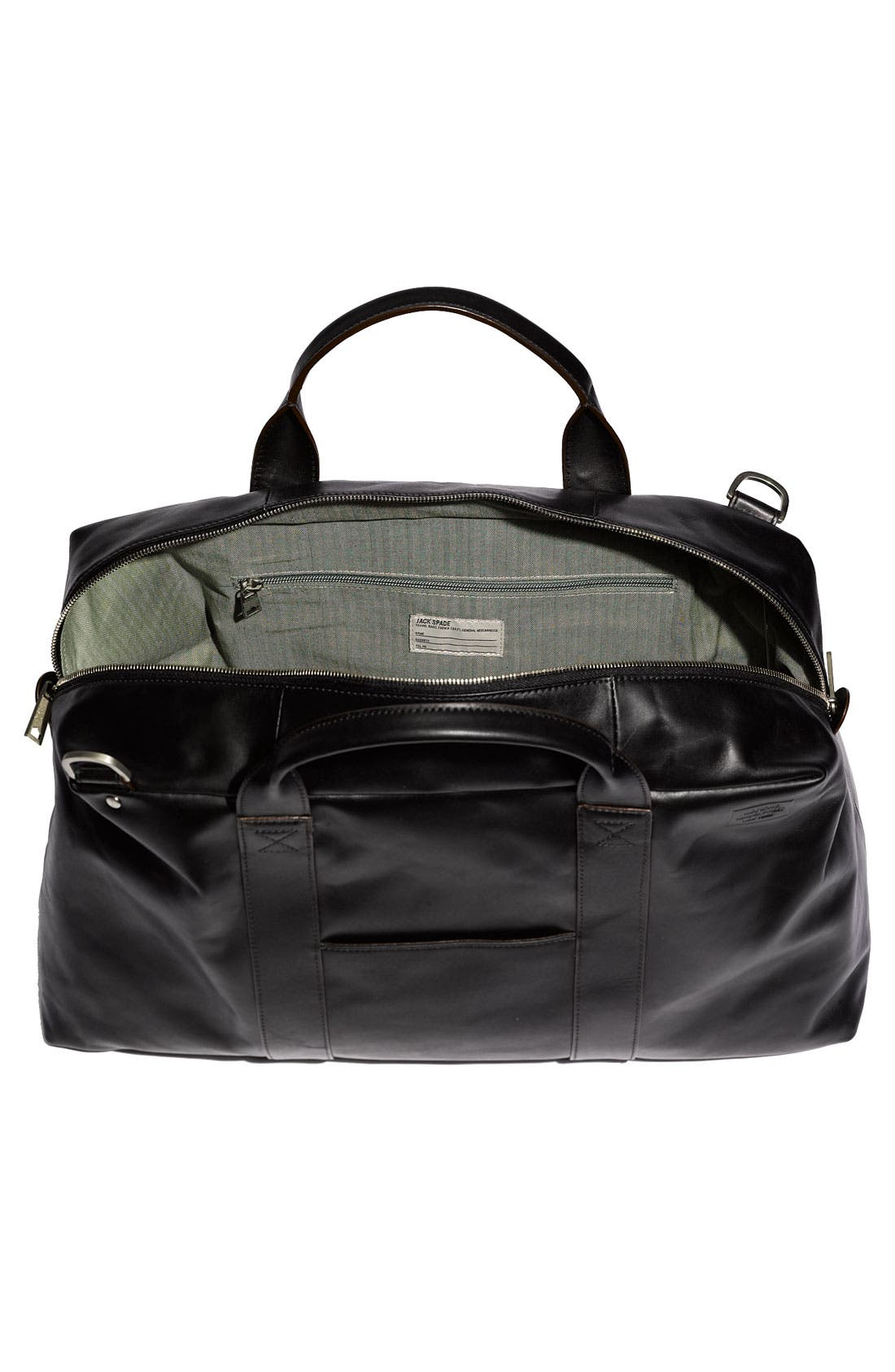 Alternate Image 2  - Jack Spade 'Wayne' Leather Duffel Bag