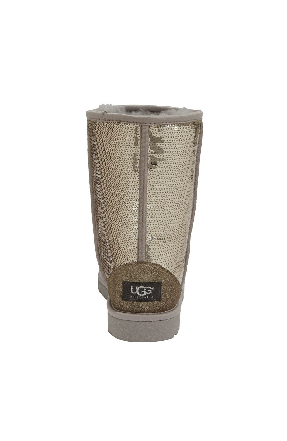 Alternate Image 4  - UGG® Classic Short with Sparkles Boot
