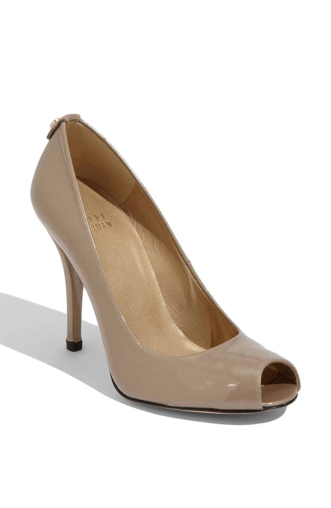 Alternate Image 1 Selected - Stuart Weitzman 'Logoflame' Pump