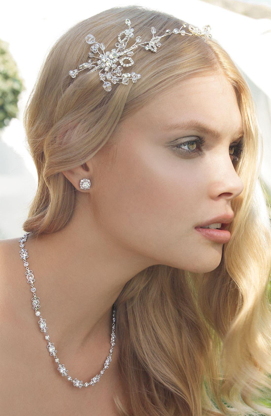 Alternate Image 2  - Nadri 'Poesia' Crystal Necklace