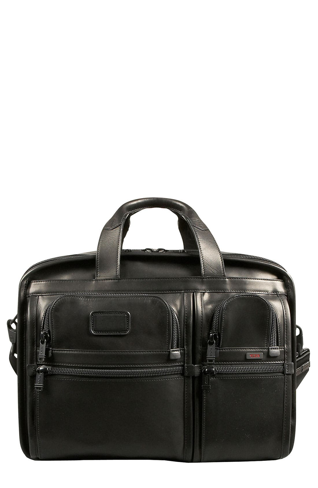 Main Image - Tumi 'Alpha - Large' Expandable Organizer Computer Briefcase