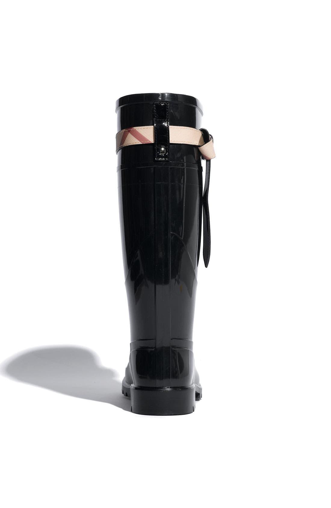 Alternate Image 3  - Burberry Rain Boot