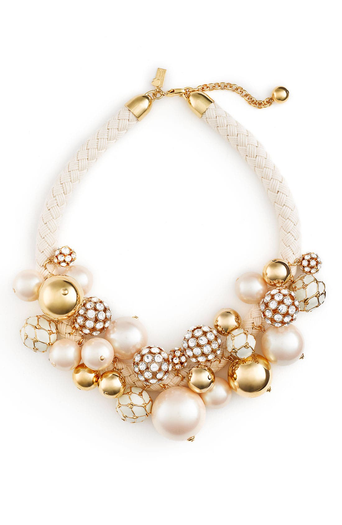 Alternate Image 1 Selected - kate spade new york 'mariner rope' cluster necklace