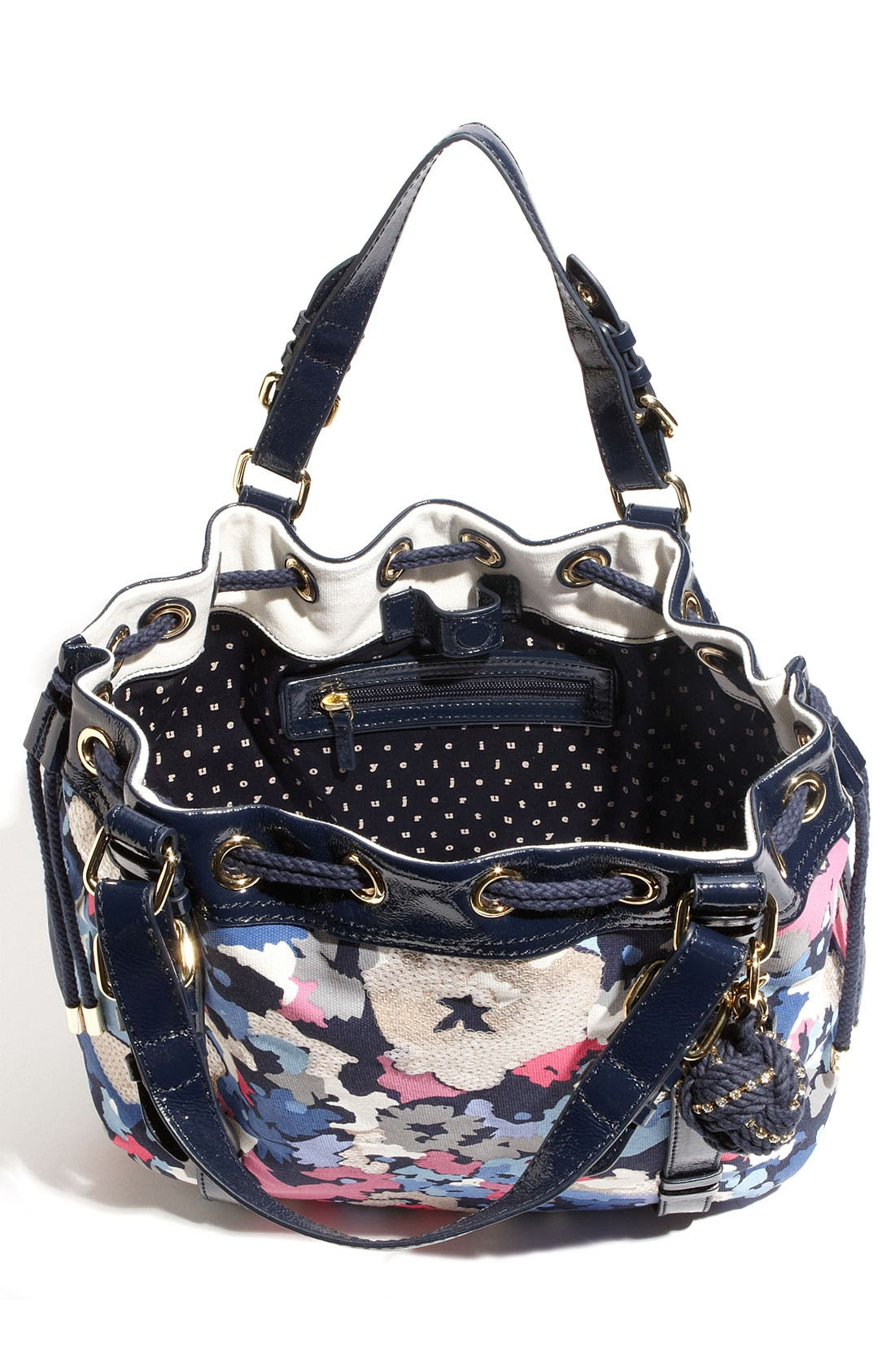 Alternate Image 3  - Juicy Couture 'Beverly' Floral Print Canvas Tote