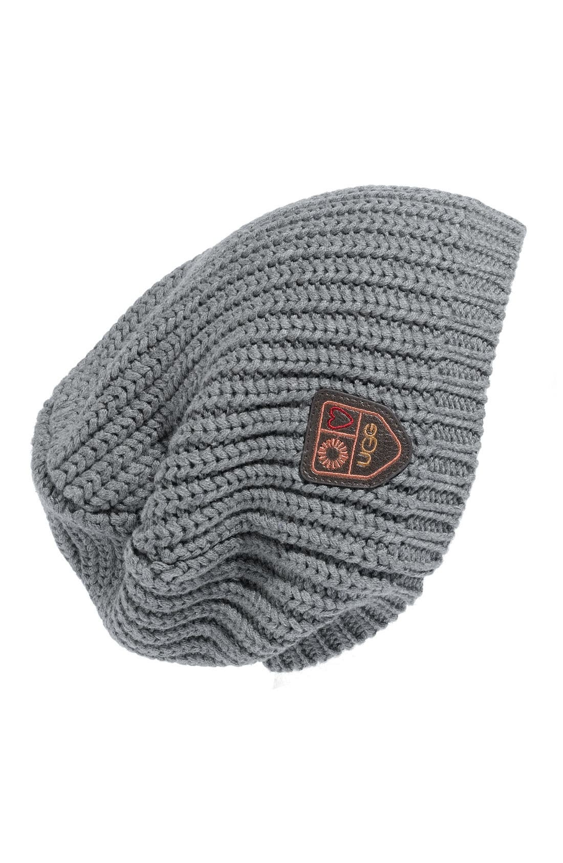 Alternate Image 1 Selected - UGG® Australia 'Cardy Oversized' Beanie