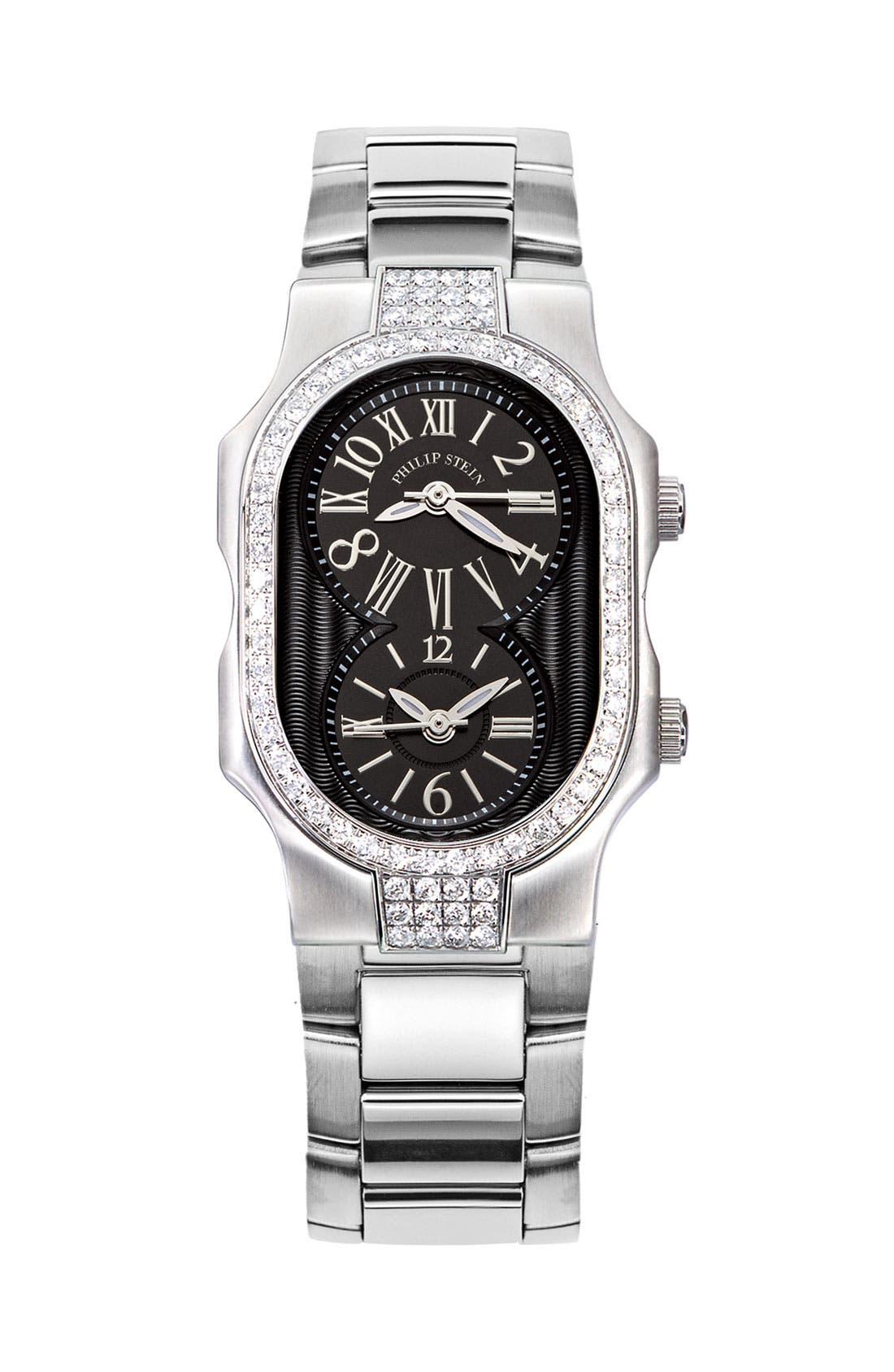 Alternate Image 2  - Philip Stein® 'Signature' Small Double Diamond Bezel Watch Case