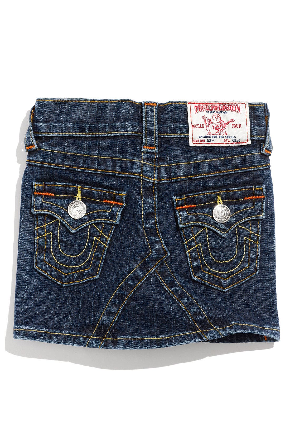 Alternate Image 1 Selected - True Religion Brand Jeans 'Joey' Skirt (Toddler)