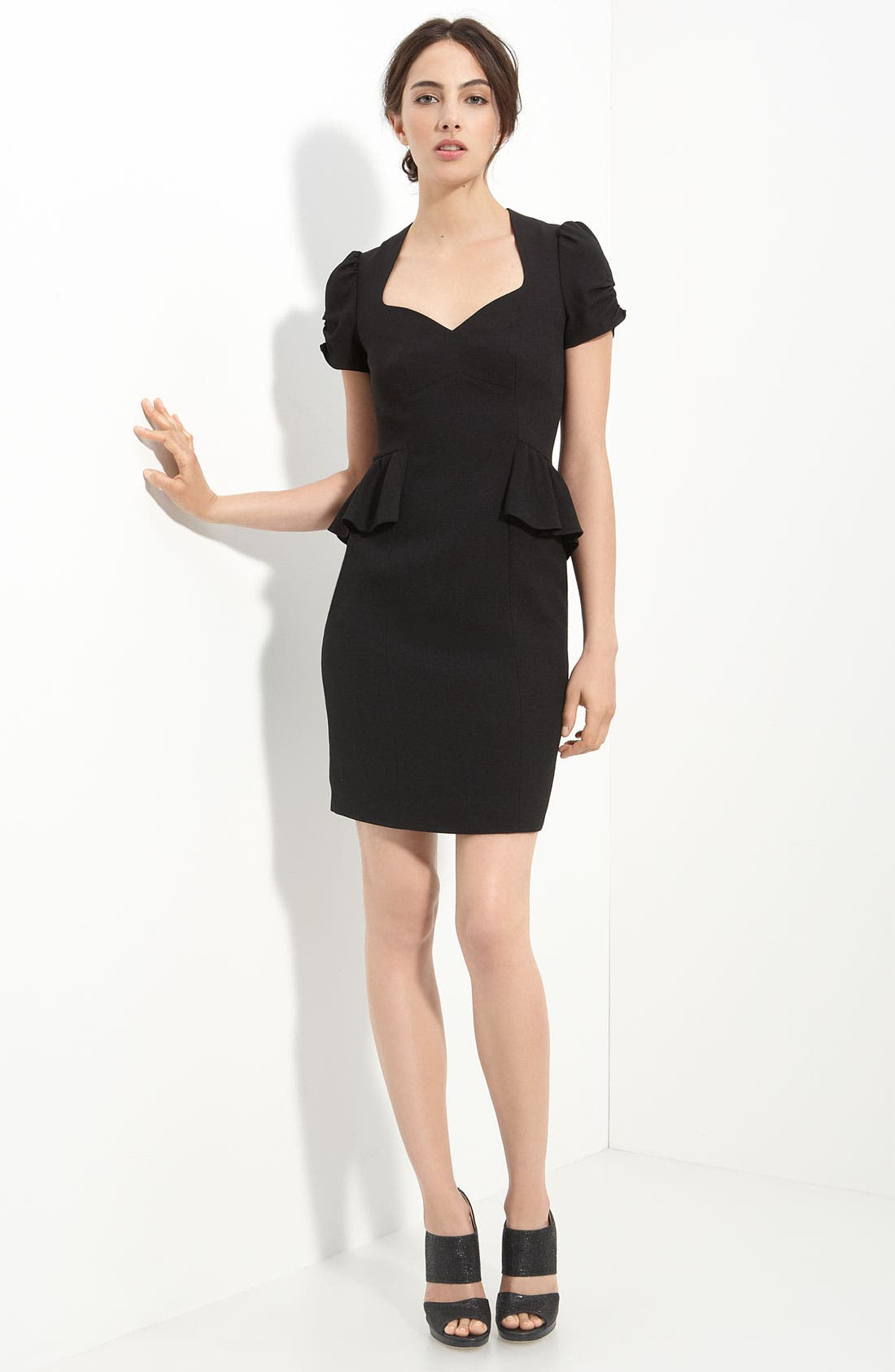 Main Image - Mcginn 'Christine' Peplum Waist Dress