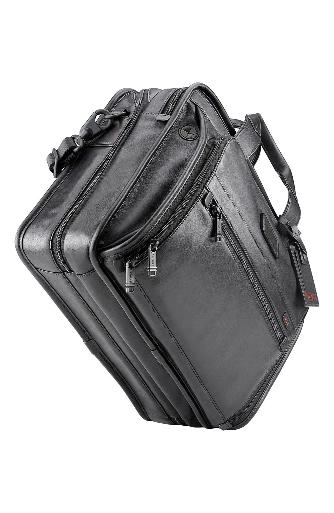 Alternate Image 4  - Tumi 'Alpha - T-Pass™' Organizer Leather Briefcase