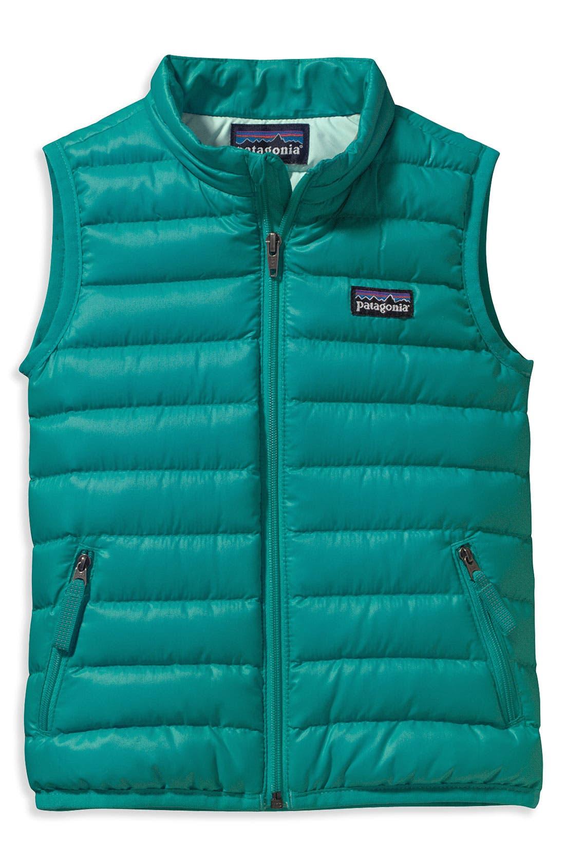 Main Image - Patagonia Down Sweater Vest (Toddler)
