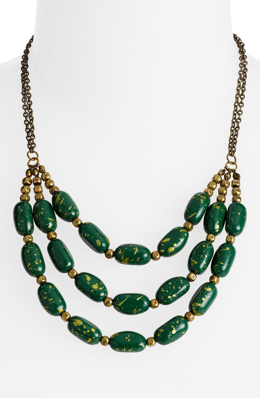 Main Image - Carole Triple Strand Bead Necklace