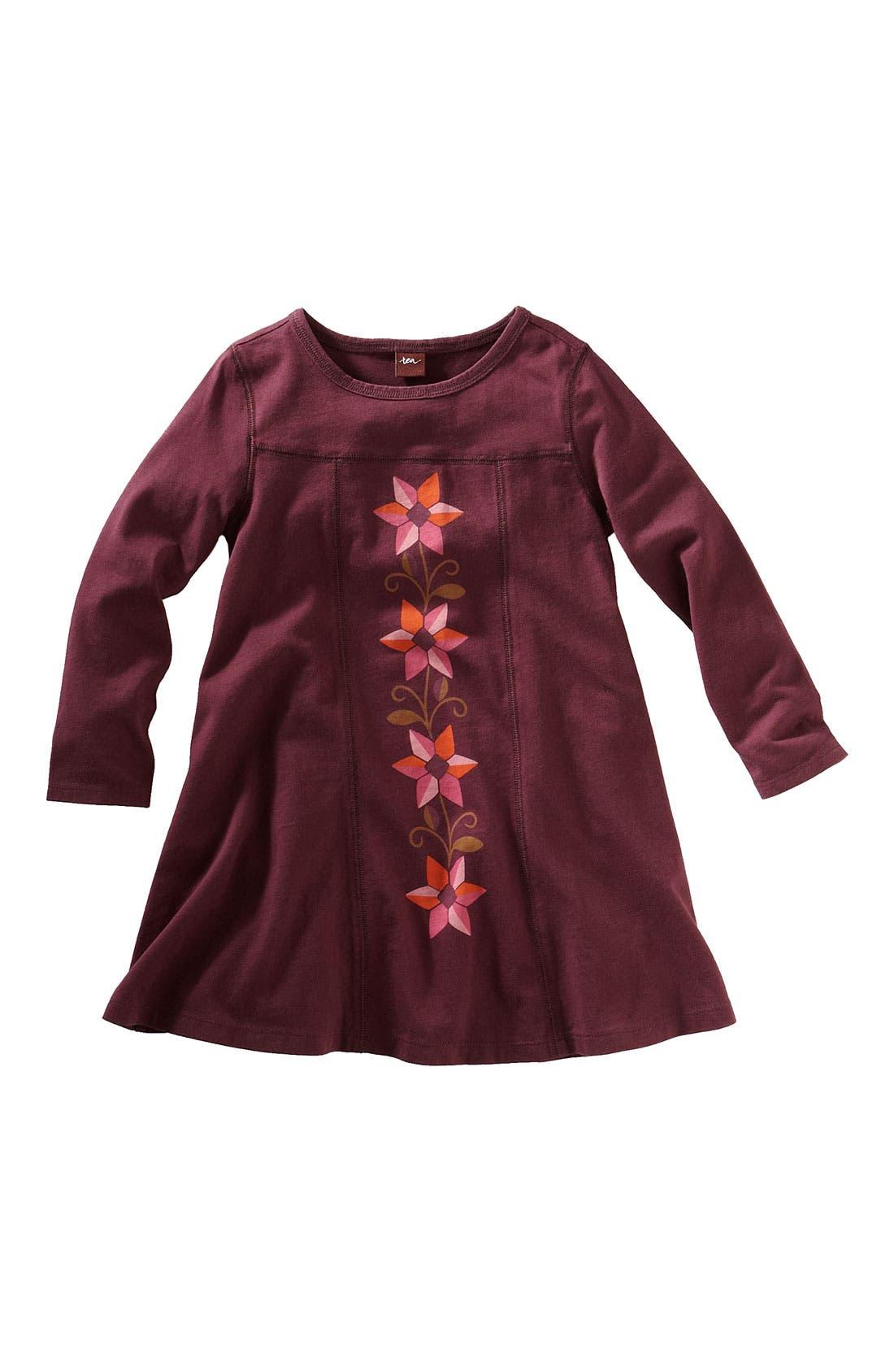 Main Image - Tea Collection 'Matilde Flores' Dress (Toddler)