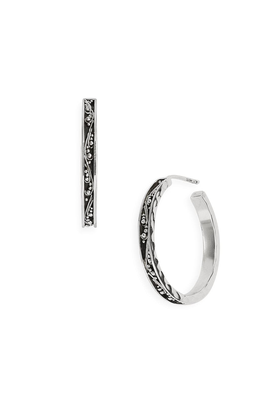 Main Image - Lois Hill 'Classics' Thin Small Hoop Earrings