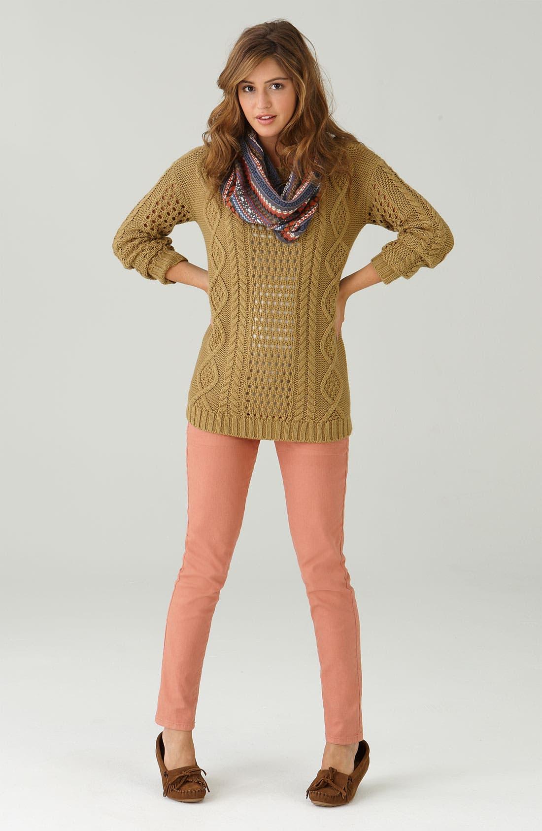 Alternate Image 2  - Frenchi® Off-Shoulder Oversized Sweater