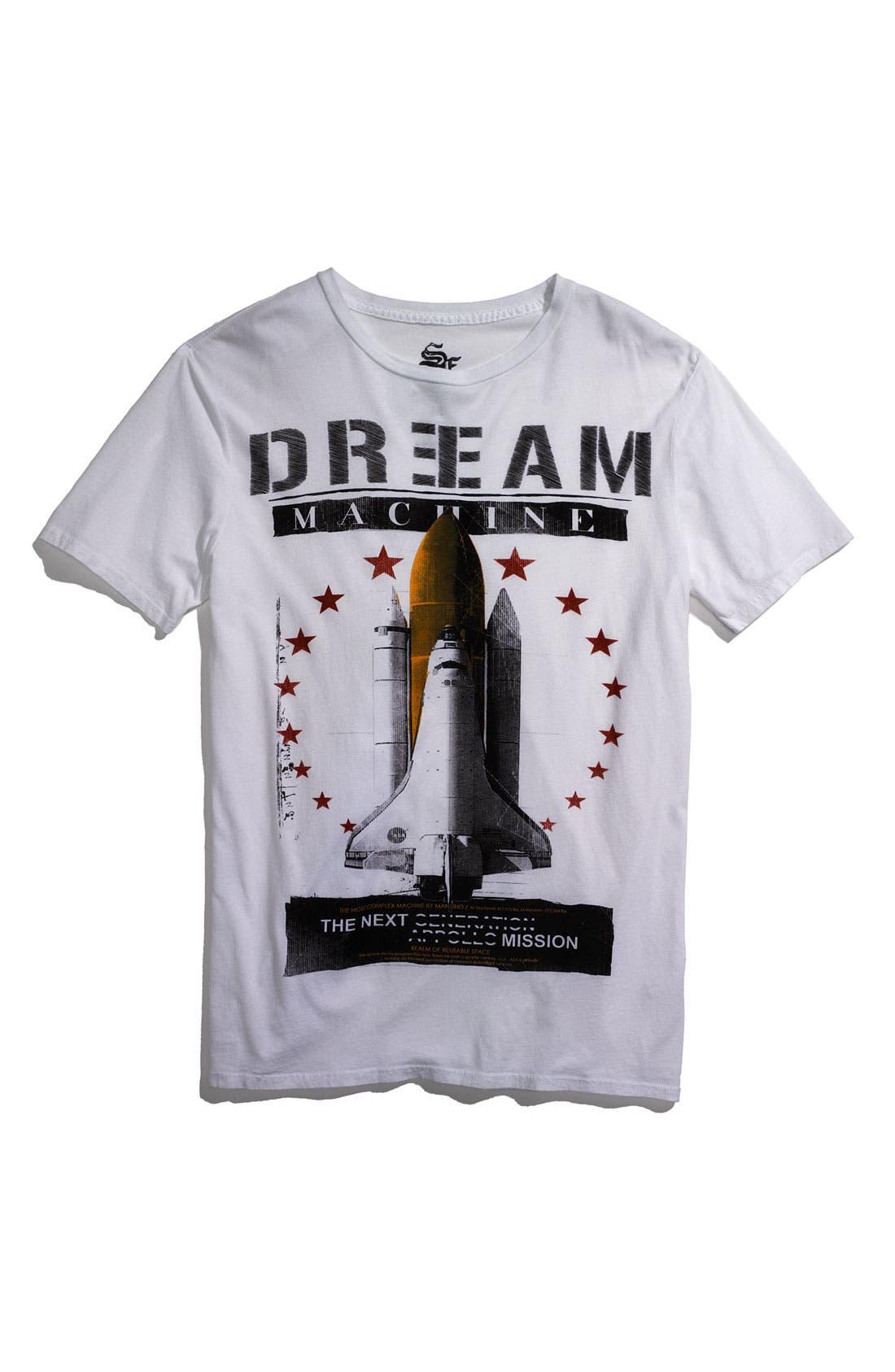 Alternate Image 1 Selected - Scott Free 'Dream Machine' Trim Fit Crewneck T-Shirt (Men)