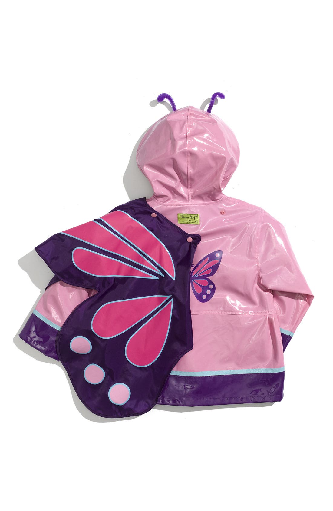 Alternate Image 3  - Western Chief 'Wings' Raincoat (Toddler & Little Girls)