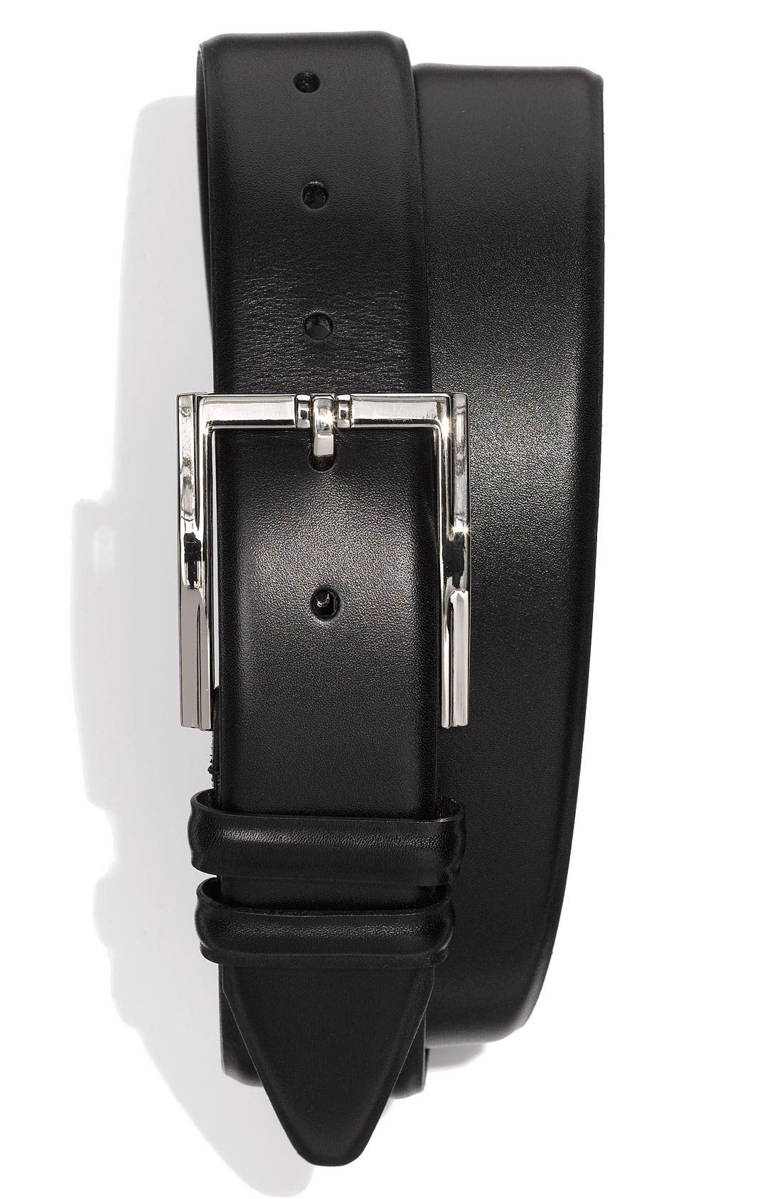 Alternate Image 1 Selected - Bruno Magli 'Maioco' Calfskin Leather Belt