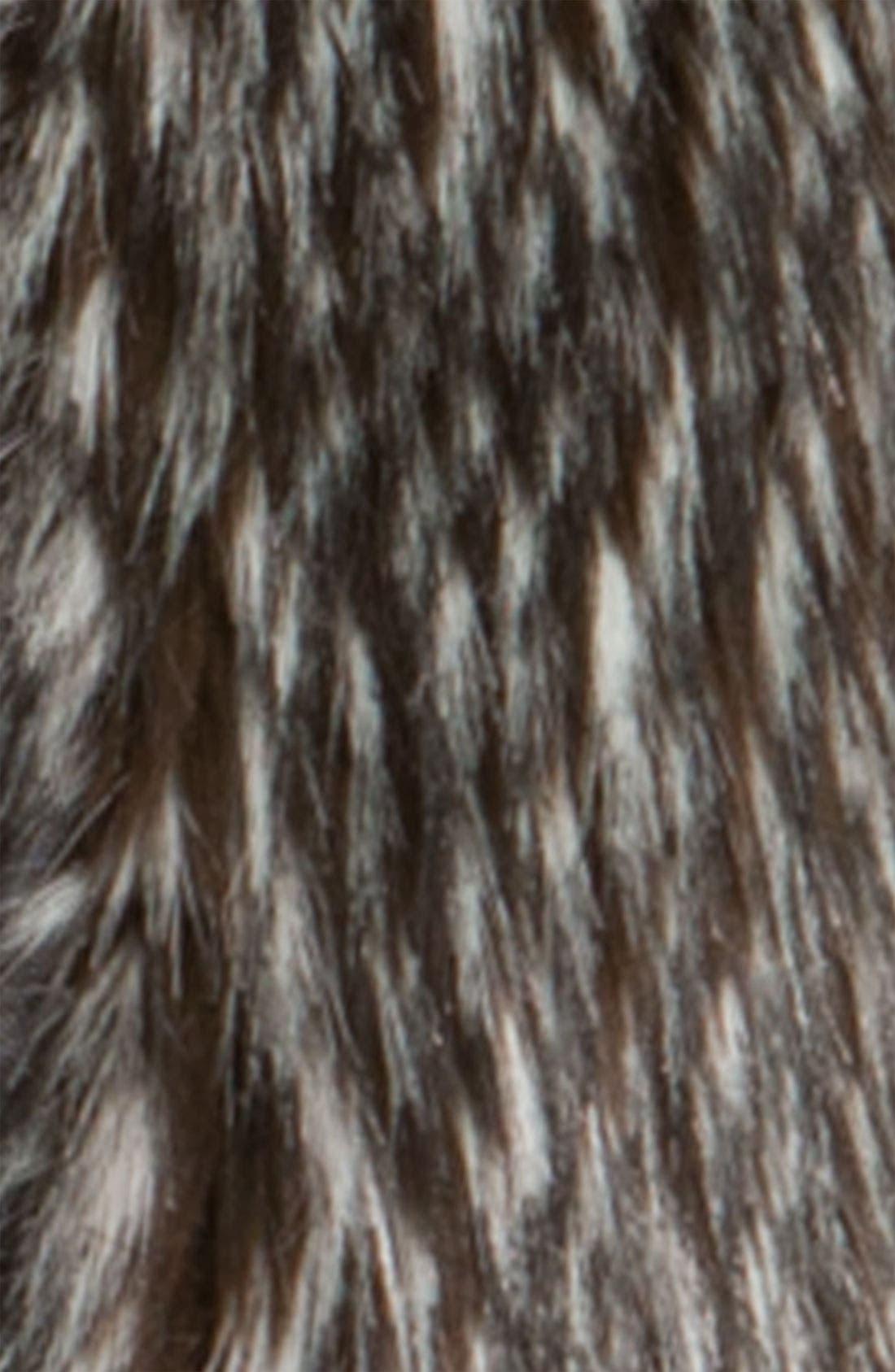 Alternate Image 2  - Hinge Zip Front Faux Fur Vest