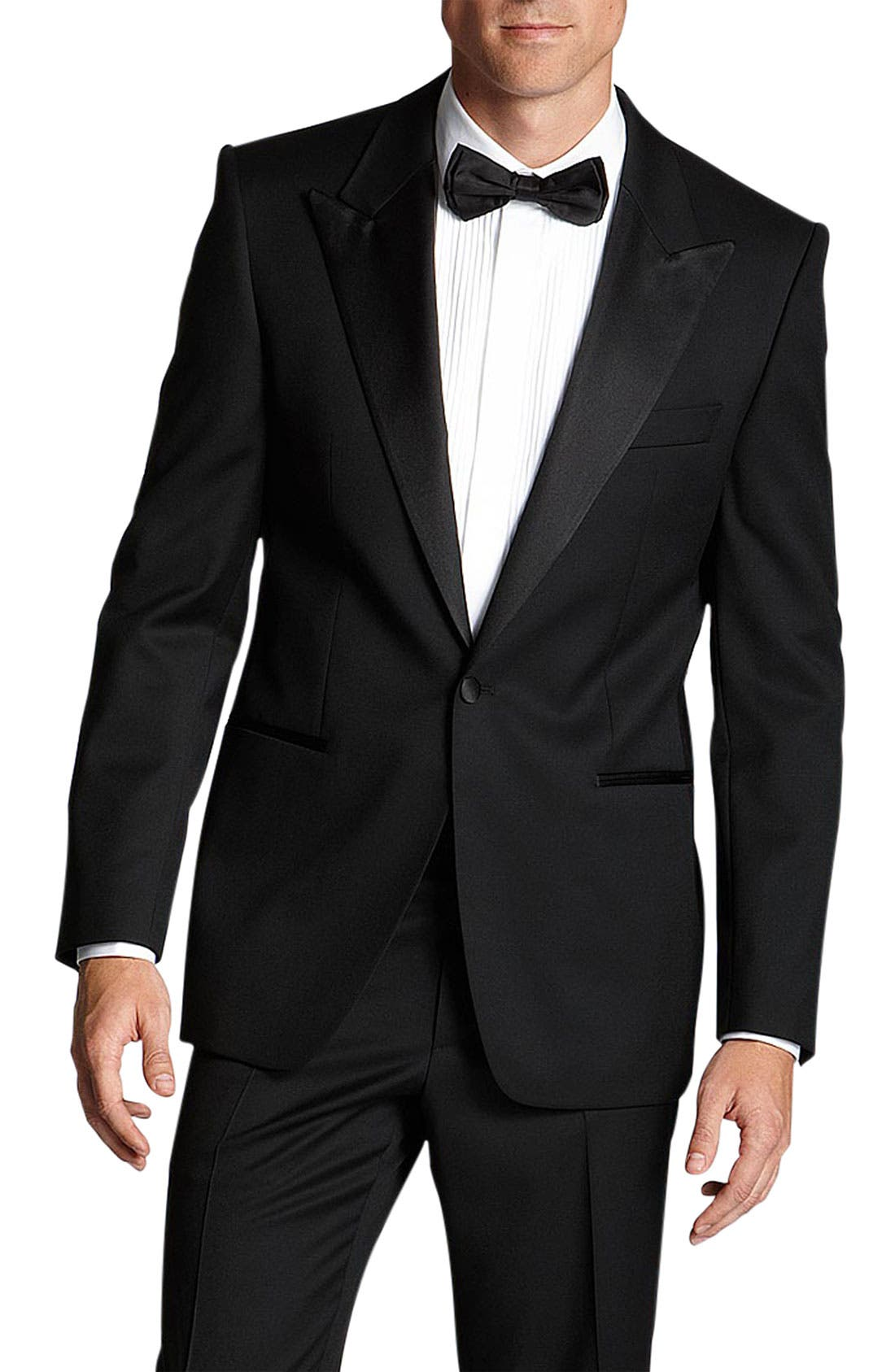 Alternate Image 1 Selected - BOSS HUGO BOSS 'Grant' Classic Fit Tuxedo (Free Next Day Shipping)