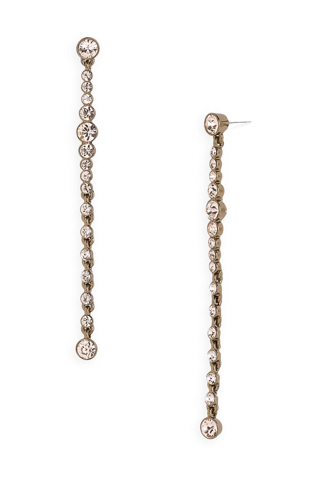Main Image - Givenchy Linear Crystal Earrings
