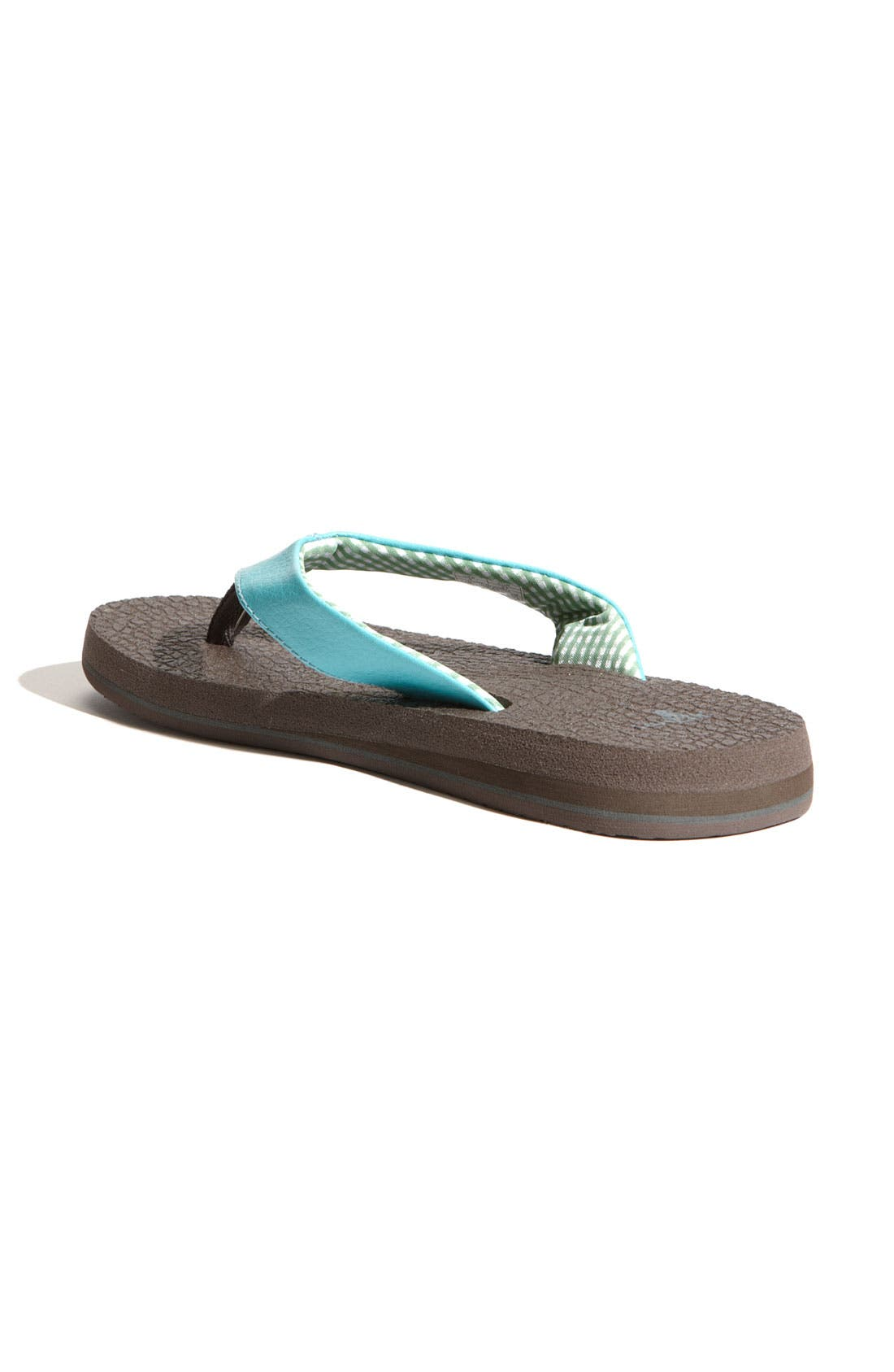 Alternate Image 2  - Sanuk 'Yoga Mat' Flip Flop (Women)