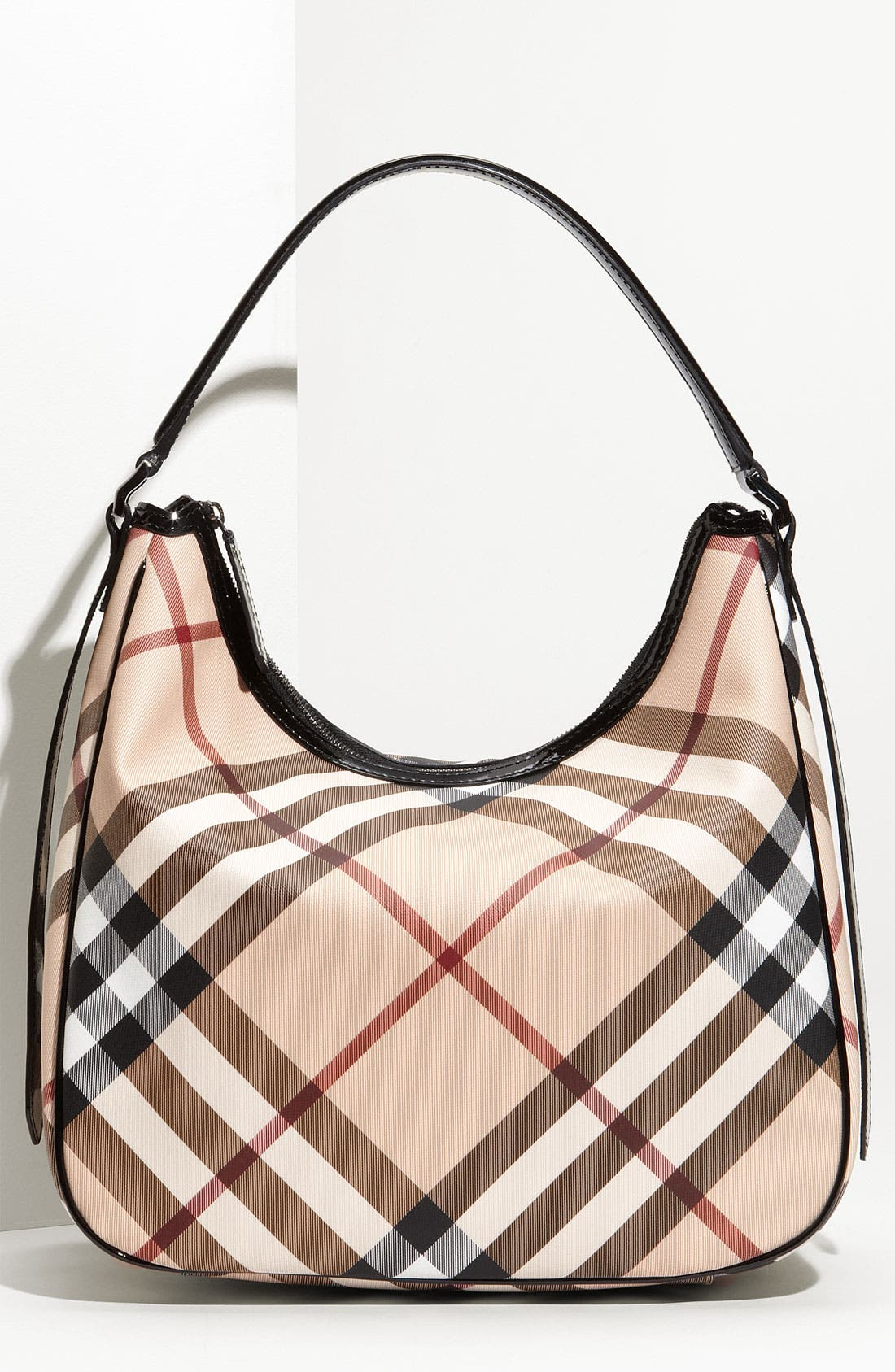 Alternate Image 1 Selected - Burberry 'Nova Check' Hobo