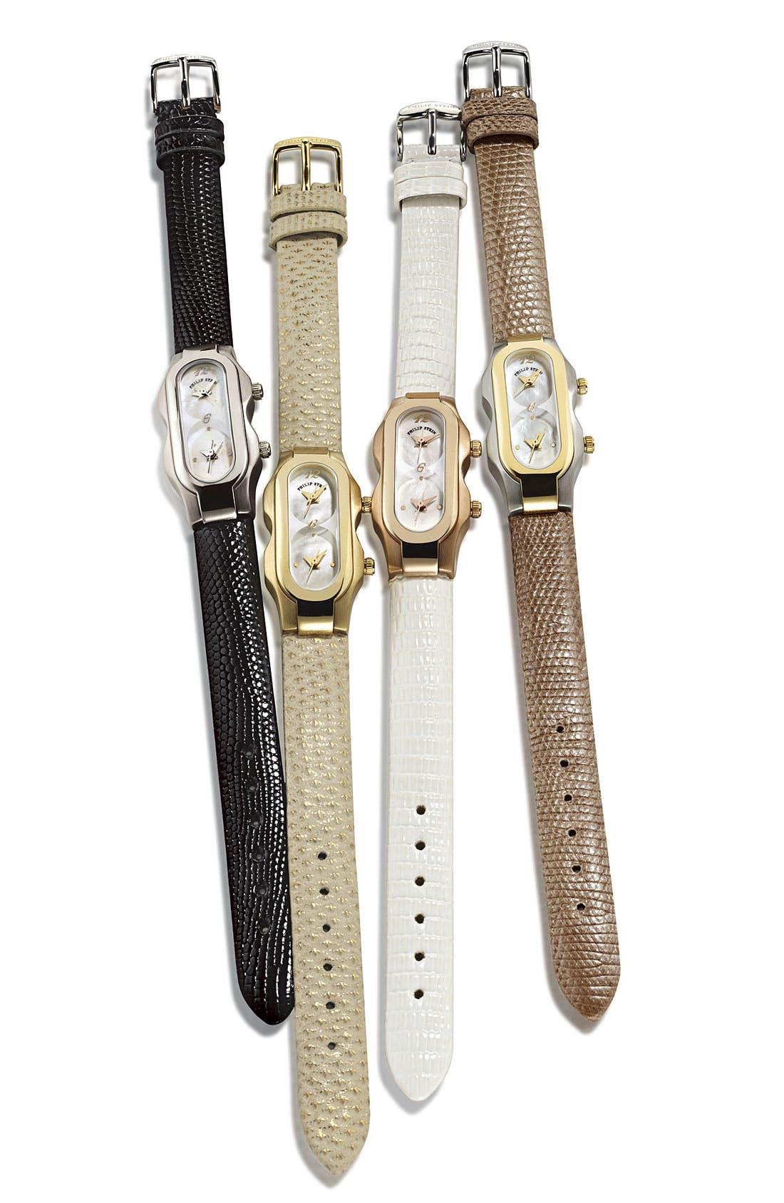 Alternate Image 3  - Philip Stein® 'Signature' Mini Mother-of-Pearl Watch Case