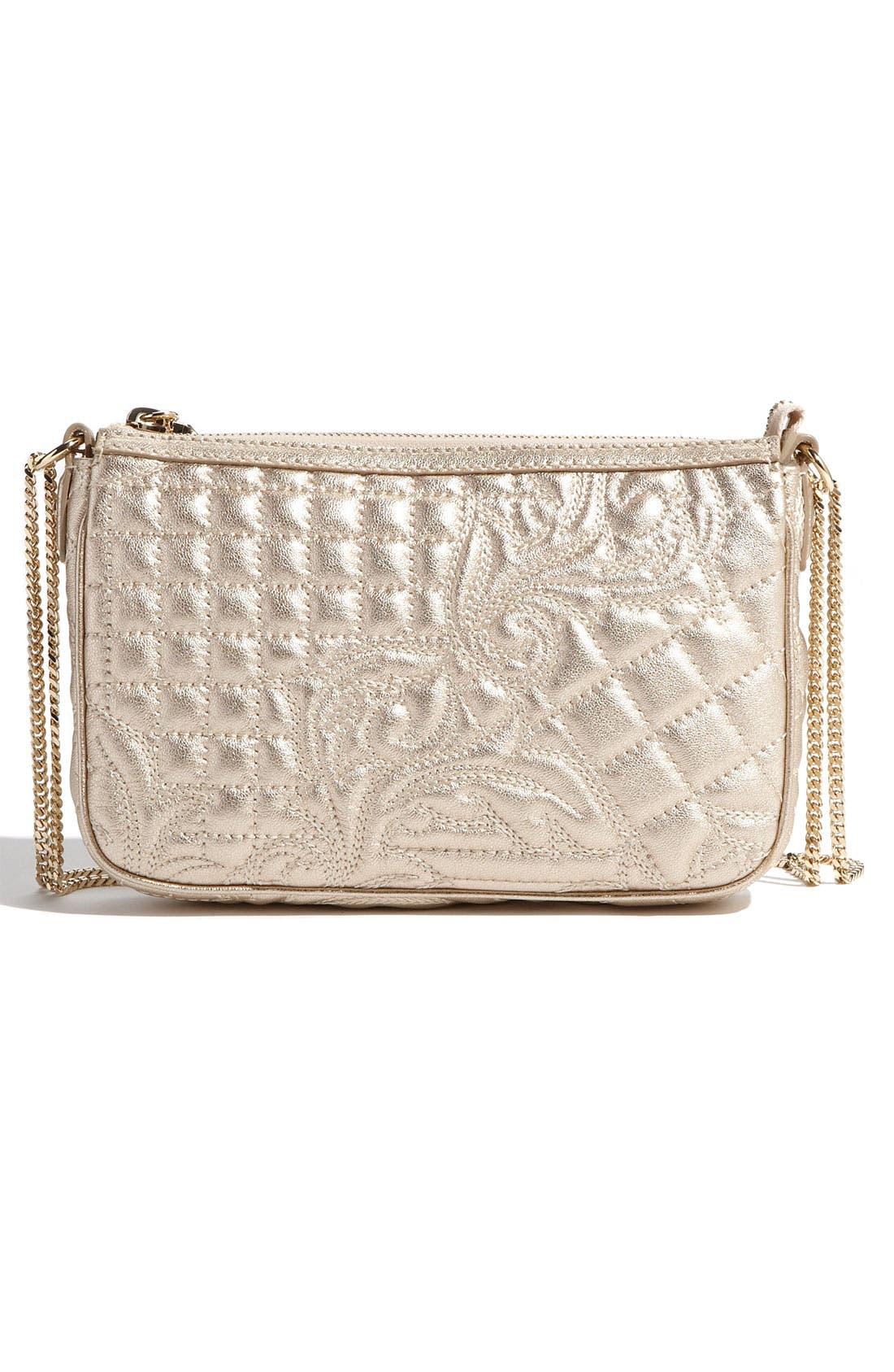 Alternate Image 4  - Versace 'Vanitas' Embroidered Leather Crossbody Bag