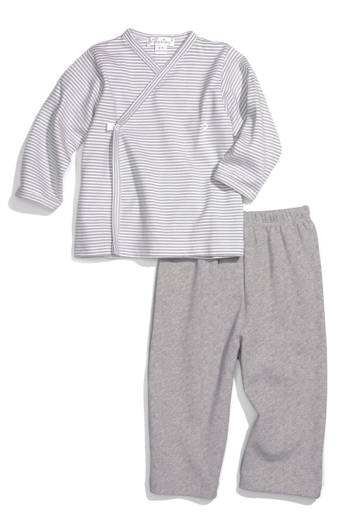 Alternate Image 1 Selected - Kissy Kissy Top & Pants Set (Infant)